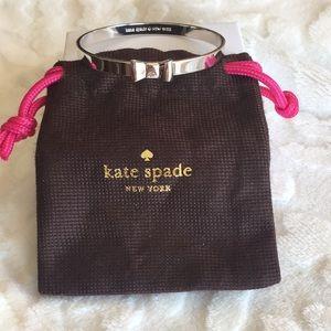 Kate Spade take a Bow silver bracelet